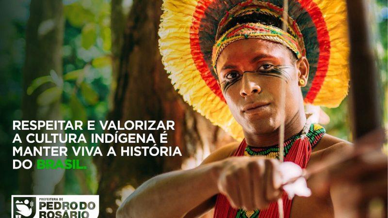 A história do Brasil não pode ser contada se não falarmos do índio e de sua contribuição para nossa cultura